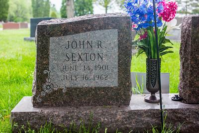 Gravestones. John R. Sexton.