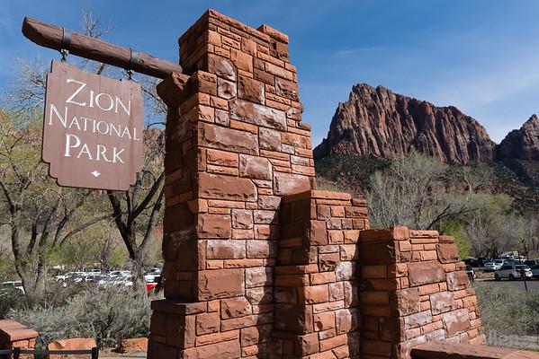2019-04-Zion, Utah, Camping Trip