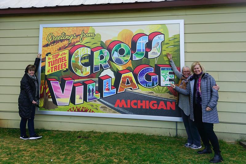 Trish, Mary, Rena:  Cross Village