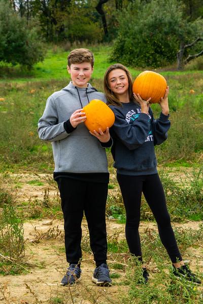 Jack and Ella and Pumpkins