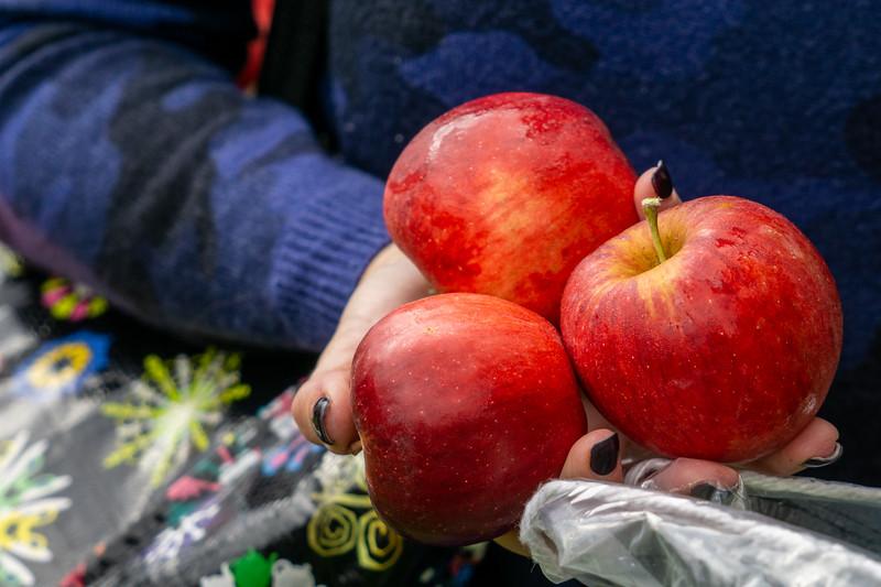 Fist Full of Apples