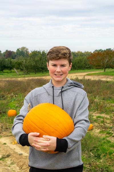Jack and a Big Pumpkin