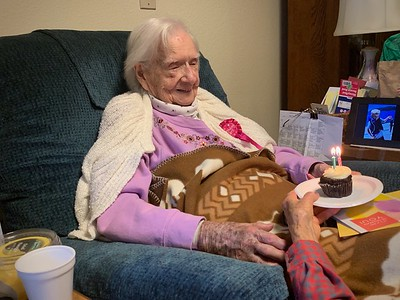 Mom's 96th birthday