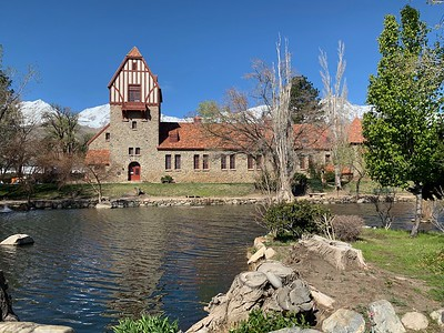 The old Mt. Whitney fish hatchery near Big Pine