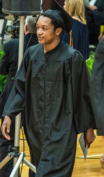 (Bettendorf, IA - June 2, 2019) Connor's graduation ceremony from Bettendorf, High School.