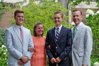 Last Dinner of Summer Vacation - Jack, Will, Amy & Andrew