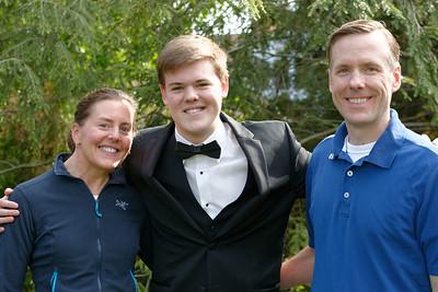 Senior Prom - Will, Amy & Andrew