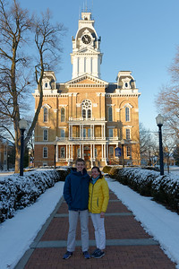 First Day at Hillsdale - Jack & Amy (2)