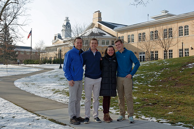 Hillsdale - Last Day of Winter Semester - Jack, Will, Amy & Andrew (1)