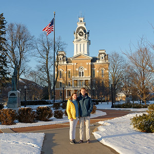 First Day at Hillsdale - Jack & Amy (1)