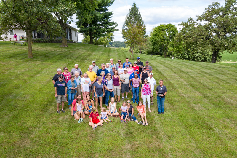 Howell Family Reunion at Tim & Holly's in New Liberty, IA.