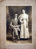 "William Bertie Howell & Grace Long Wedding, January 31, 1912. ""Billie"" died 10 years, 2 months later on March 24, 1922."
