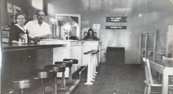 Grace Davis' cafe in Cave Junction, Oregon.