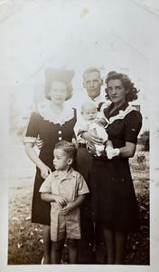 Alice & Fred Wild, Edith Adair, Dick Wild, Bill Adair. About 1942.