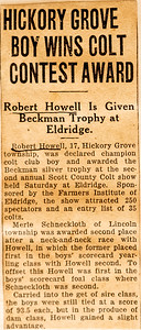 Bob Howell's Scrapbook