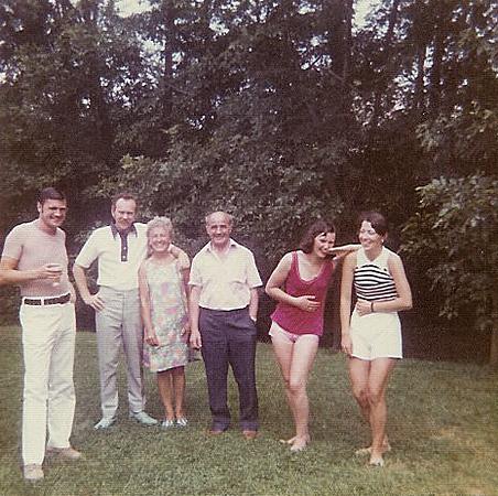 Dave, Jack, Sadie, Davy, Liz and Jana