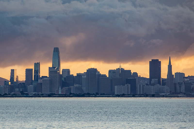 View of San Francisco from Pt. Isabel