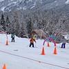 Ski school for both boys!