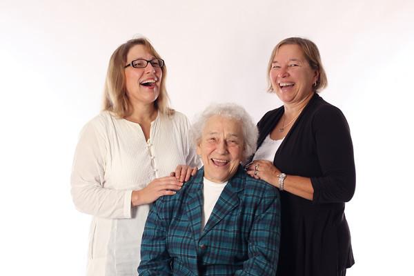 Valerie, Dolores and Karen