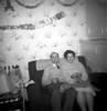 Charles Benjamin and Edna Fisher 325 Burnley Road Christmas abt 1961