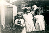 Margaret Lowe 16 10 1944 Unknown Glenys Chadwick 24 8 1944 George William Haworth behind 18 7 1943 Maureen Fisher 28 9 1946 back yard of 325 Burnley Rd