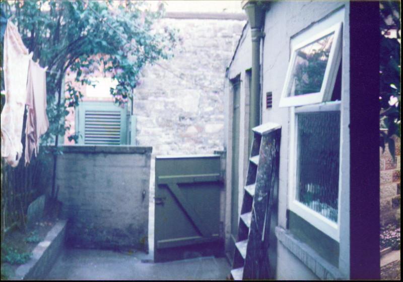 325 Burnley Road yard 1970s