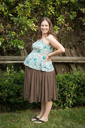 36 Weeks Pregnant, July 2012