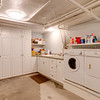 Utility room in basement