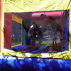 Everyone likes the bounce castle!