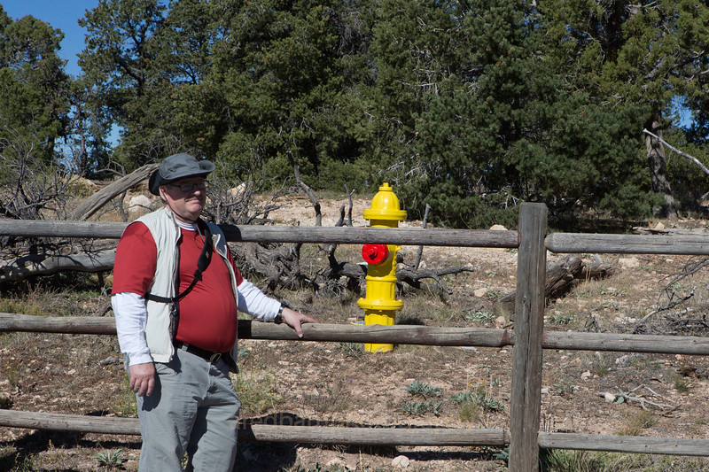 It was cool in the morning ,but another Fire hydrant,Mueller too.Grand Canyon Nat PK