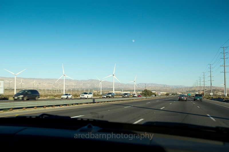 Wind power, Palm Springs Dessert