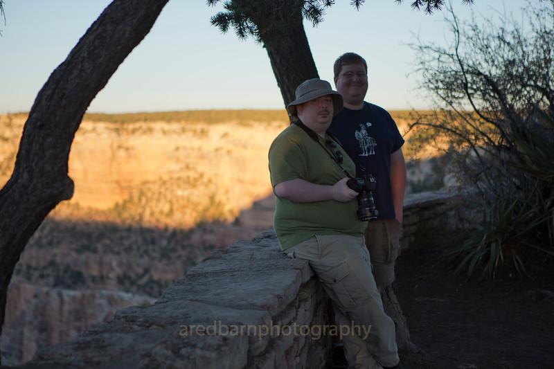 Grand Canyon Nat PK,Tim  and Evan