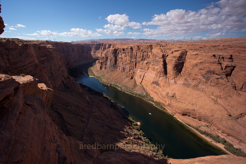 Glen Canyon river gorge.