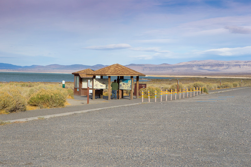 Mono lake visitor center.