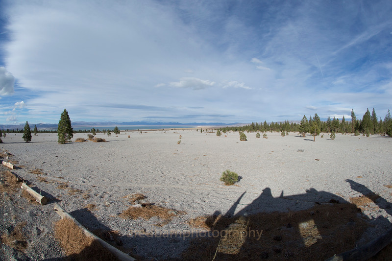 Looking North across Mono Lake.
