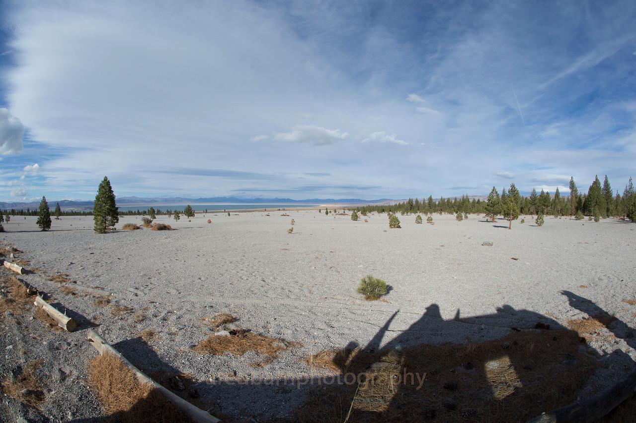 Looking North across Mono Lake.