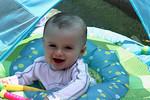 Hunter at 9 months 7-4-2012.