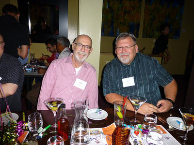 Guests at the Birthday Party: David and Terry