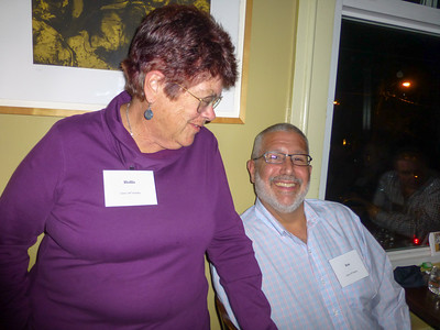 Guests at the Birthday Party: Hollis and Ron