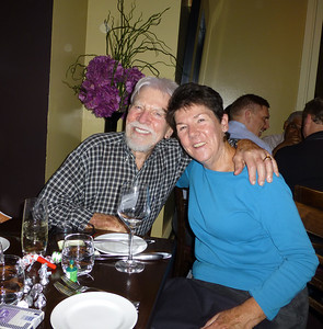 Guests at the Birthday Party: Richard Rockwell and Mary Pat
