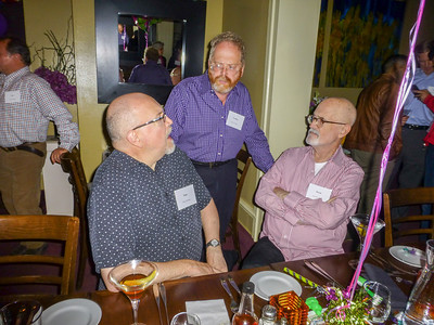 Guests at the Birthday Party: Tony, Geoff, and David