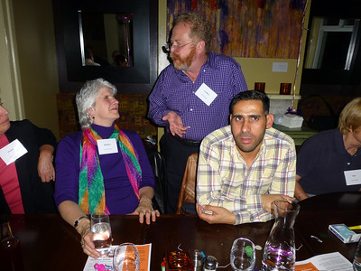 Guests at the Birthday Party: Kathleen, Geoff, and S