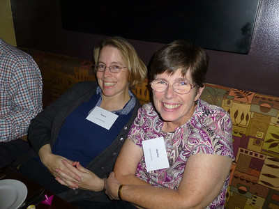 Guests at the Birthday Party: Nancy and Shirley
