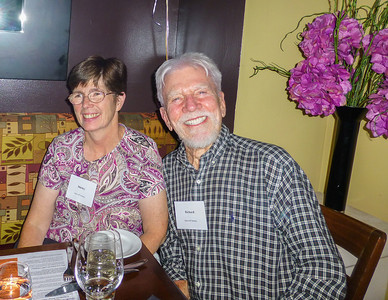 Guests at the Birthday Party: Shirley and Richard Rockwell