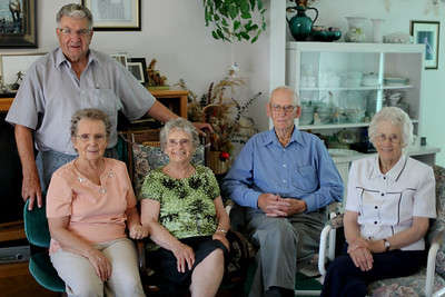 l-r: Jim, Marion, Beulah, Roland and Margie