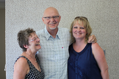 Diana, Dale and Tracy Scribner