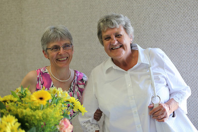 Helen Martindale and Barb Mitchell (Martindale)