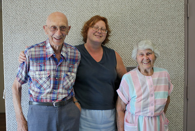 Frank, Lynn and Eva Wirsz
