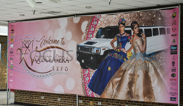 XV Quinceanera and Weddings held its first Quinceanera Expo on Sunday, June 2. The event was held at Harvey Hall Convention Center and included make-up and hair demonstrations, fashion show, vendors and photo booth. (Jessica T. Payne/Tyler Morning Telegraph)
