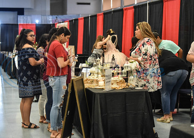 Tyler residents gathered at Harvey Hall Convention Center on Sunday, June 2 for the first XV Quinceanera Expo 2019. The included a fashion show, professional dance performances, vendor, food booths, photo booth and raffle giveaways. (Jessica T. Payne/Tyler Morning Telegraph)